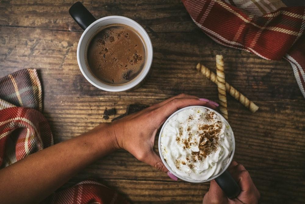 woman-drinking-hot-coffee